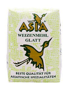 Ethnomehl Asia Weizenmehl glatt Type 480