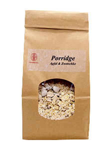 Porridge Apfel-Zwetschke