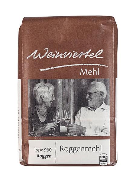 Weinviertelmehl Roggenmehl Type 960