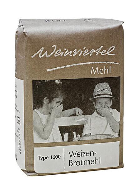 Weinviertelmehl Weizenbrotmehl 1600
