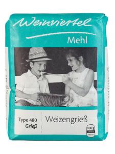 Weinviertel flour Wheat semolina, type 480
