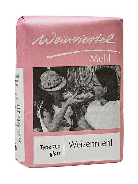 Weinviertelmehl Weizenmehl glatt Type 700